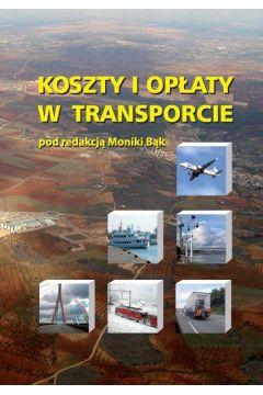 Koszty i opłaty w transporcie