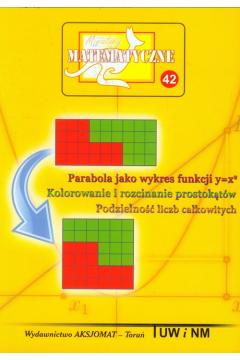 Miniatury matematyczne 42 Parabola jako wykres..