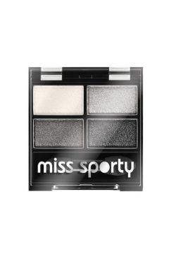 Studio Colour Quattro Eye Shadow poczwórne cienie do powiek 404 Real Smoky/Smoky Black