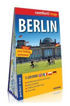Comfort! map Berlin 1:20 000 mini plan miasta