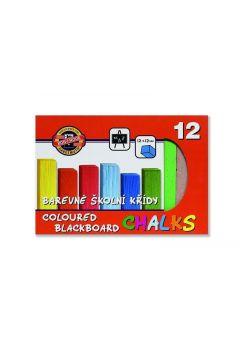 Kreda kolorowa do tablic 12 kolorów