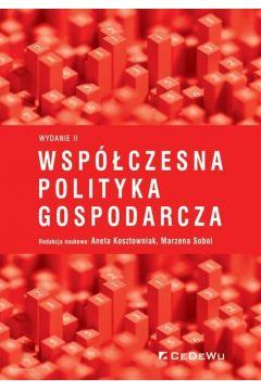 Współczesna polityka gospodarcza w.2
