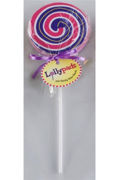 Lollypads - Lizak - karteczki samoprzylepne fioletowe