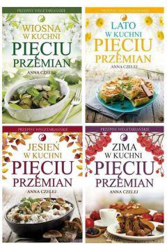 Zestaw 4 Książek Wiosna Lato Jesień I Zima W Kuchni Pięciu Przemian