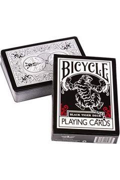 Karty Black Tiger Red Pips BICYCLE