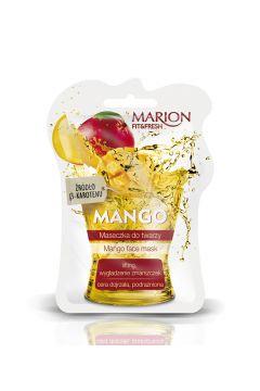 Fit&Fresh Face Mask maseczka do twarzy lifting i wygładzenie zmarszczek Mango
