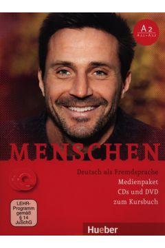 Menschen A2 (A2/1+A2/2) Medienpaket CDs und DVD zum Kursbuch