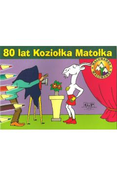 80 lat Koziołka Matołka. Malowanka