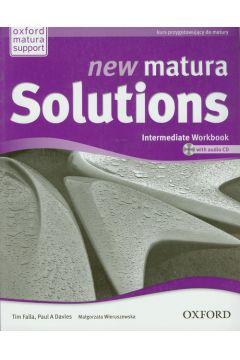 Język angielski LO New Matura Solutions Intermediate Workbook-ćwiczenia