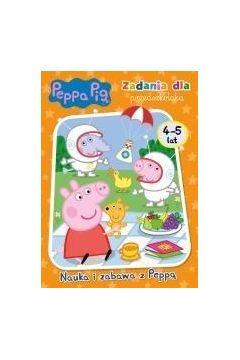 Świnka Peppa. Nauka i zabawa z Peppą 4-5 lat