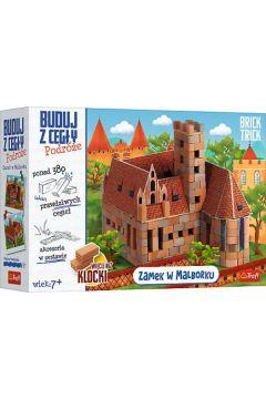 Brick Trick. Buduj z cegły. Zamek Malbork XL