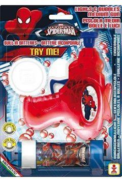 Średni pistolet baniek mydlanych Spider-Man