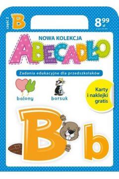 ABECADŁO Zadania edukacyjne dla przedszkolaków - literka B. Część 2