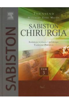 Sabiston Chirurgia. Tom 3