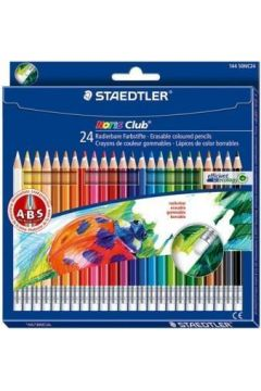 Kredki z gumką Noris Club 24 kolory STAEDTLER