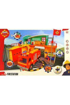 Strażak Sam Stacja ratunkowa Remiza 30 cm z figurk