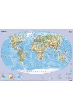 Świat. Mapa ścienna 1:60 000 000