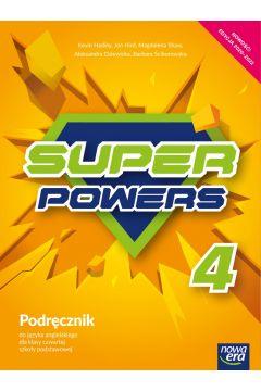 J. Angielski SP 4 Super Powers Podr. NE