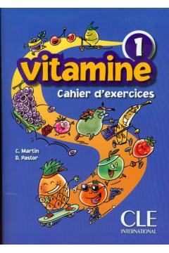 Vitamine 1 ćwiczenia+CD CLE