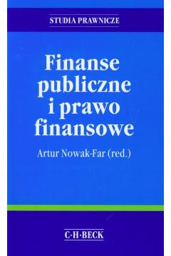 Finanse publiczne i prawo finansowe