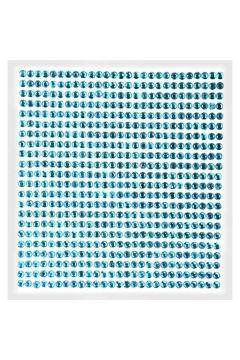 Kryształki samoprzylepne paski jasnoniebieskie