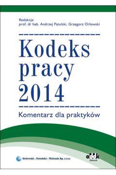 Kp kodeks pracy 2014 komentarz dla prakt-oddk