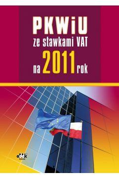 PKWiU ze stawkami VAT na 2011 rok