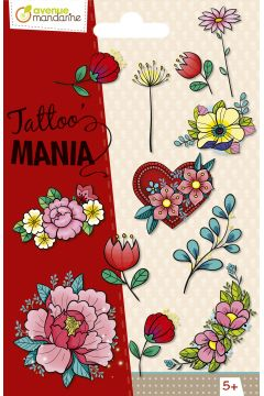 Tatuaże Tattoo Mania Kwiaty