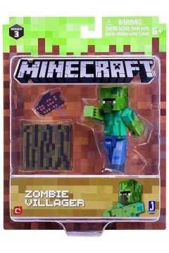 Minecraft - figurka Zombie Villager