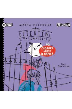 CD mp3 zagadka grobu wampira detektywi z tajemniczej 5 tom 2