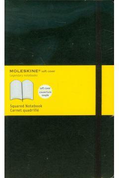 Notes Classic 13x21 kratka - czarny MOLESKINE