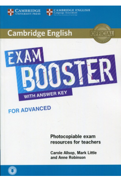 Cambridge English Exam Booster with answer key for advanced