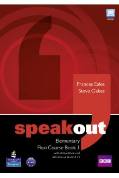 Speakout Elementary Flexi Course Book 1 with Active Book and Workbook Audio CD