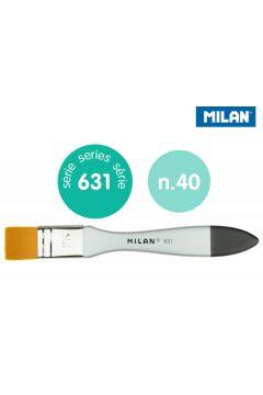 Pędzel Milan  spalter Premium Synthetic seria 631 nr 40 blister