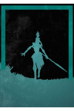 League of Legends - Kalista - plakat