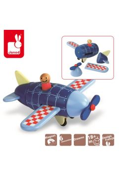 Samolot drewniany magnetyczny, Janod