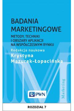 Badania marketingowe. Rozdział 7