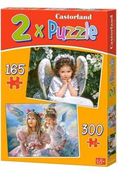 Puzzle x2 Aniołki (B-021093)