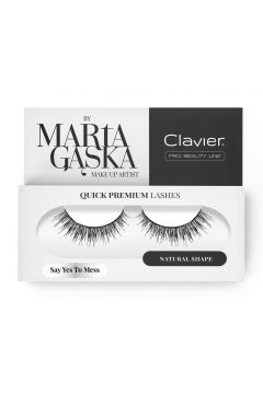 Quick Premium Lashes rzęsy na pasku Say Yes To Mess 3D SK09