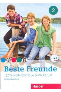 Beste Freunde 2. Język niemiecki. Zeszyt ćwiczeń. Gimnazjum