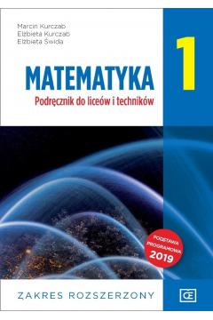 Matematyka 1. Podręcznik do liceów i techników. Zakres rozszerzony