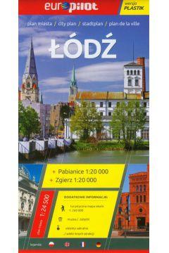 Plan Miasta EuroPilot. Łódź plastik