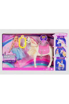 Barbie Przygody Księżniczek Koń światła i dźwięk