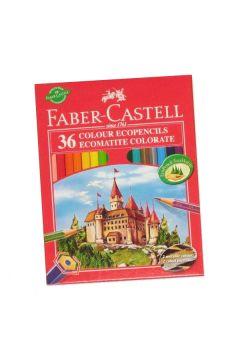 Kredki Zamek 36 kolorów FABER CASTELL