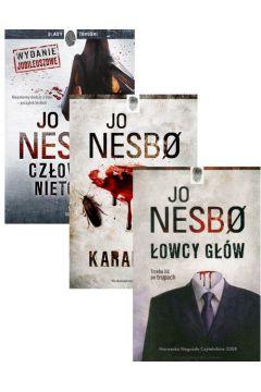 Pakiet książek Jo Nesbo: Człowiek nietoperz, Karaluchy, Łowcy głów