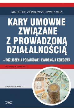 KARY UMOWNE rozliczenia podatkowe i ewidencja księgowa w działalności gospodarczej