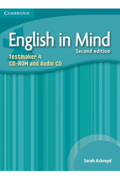 English in Mind Level 4 Testmaker CD-ROM and Audio CD
