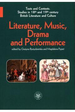 Literature, Music, Drama and Performance