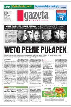 Gazeta Wyborcza - Płock 294/2008