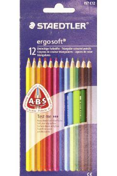 Kredki ołówkowe Ergosoft 12 kolorów